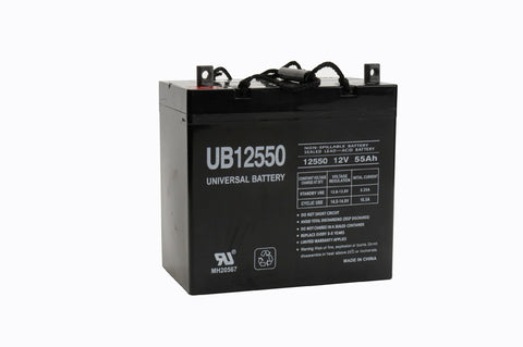 Universal Battery UB12550 (+ on left) Z terminal