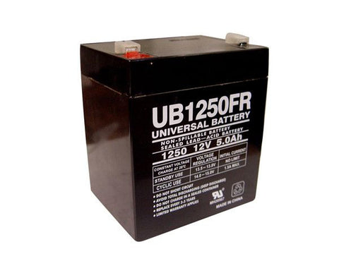Universal Battery UB1250FR with F2 tabs