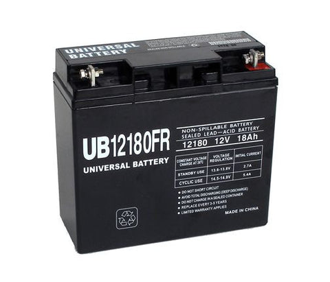 Universal Battery UB180FR with T4 Nut and Bolt