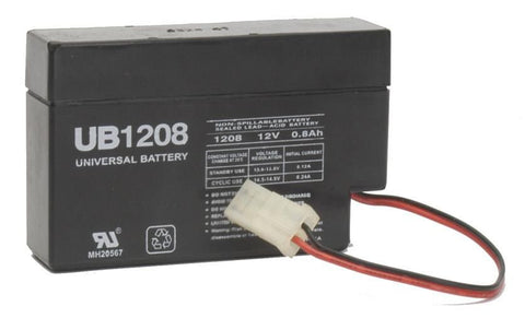 Universal Battery UB1208 with Wire leads