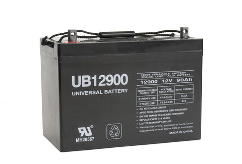 Universal Battery UB12900 (Group 27) with I4 posts