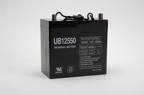 Universal Battery UB12550 (Group 22NF) with Z terminal