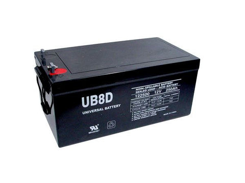 Universal Battery UB-8D AGM with L4 posts