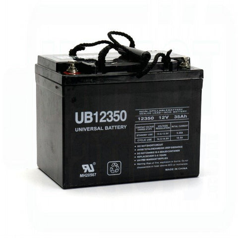 Universal Battery UB12350 (Group U1) with I2 terminals