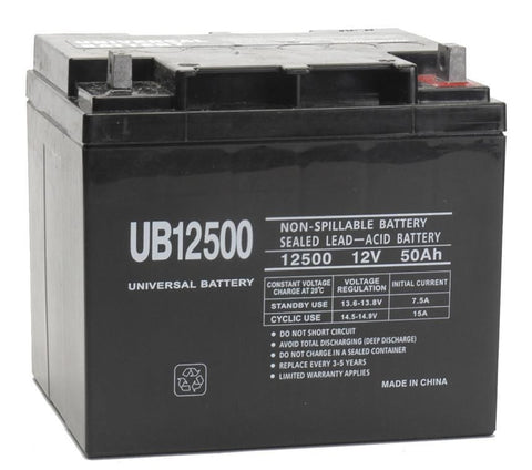 Universal Battery UB12500 with L2 post