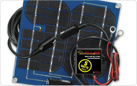 5-Watt Solar Battery Maintainer