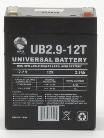 Universal Battery UB1229T with F1 tabs