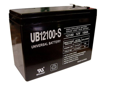 Universal Battery UB12100-S with F2 tabs
