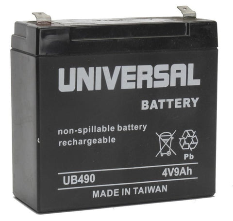 Universal Battery UB490 with F2 tabs