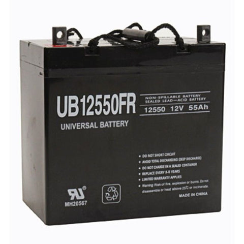 Universal Battery UB12550FR with Z1 posts