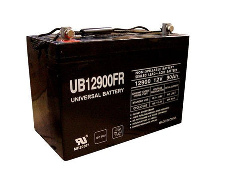 Universal Battery UB12900FR with Z1 posts
