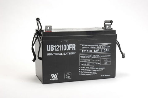 Universal Battery UB121100FR with Z1 posts