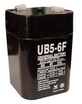 Universal Battery UB650F with F1 tabs