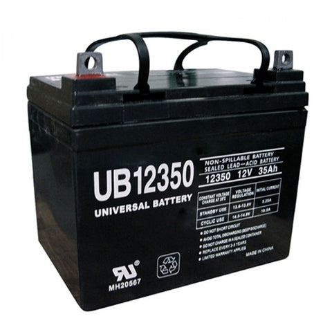 Universal Battery UB12350 (Group U1) with L1 Terminals