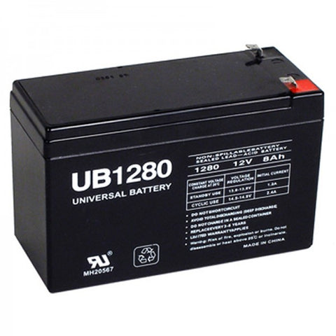 Universal Battery UB1280 with F1 tabs
