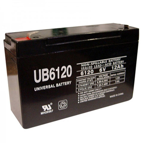 Universal Battery UB6120 with F1 tabs