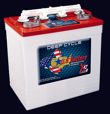 US 8 Volt Golf Cart Battery