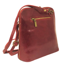 Crossbody Italian Leather Messenger Bag I Medici 298