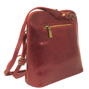 I Medici Crossbody Italian Leather Messenger Bag 298