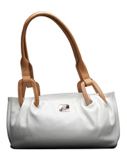 White Leather Handbag I Medici 340