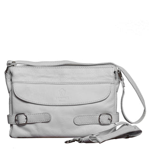 I Medici 465 Italian Leather Mini Messenger Bag