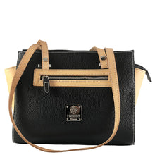Italian black Handbags by I Medici 806