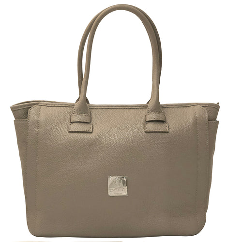 I Medici D4 Women Italian Leather Duffel Handbag