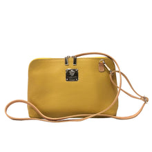 Handbags Italian Leather I Medici Yellow