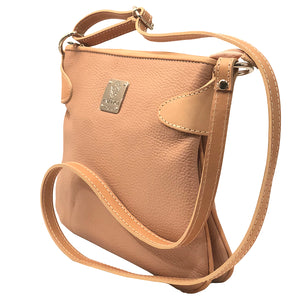 I medici italian leather Crossbody Pink Leather