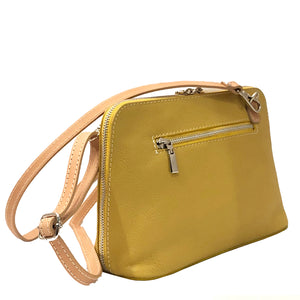 Handbags Italian Leather I Medici 298 Yellow