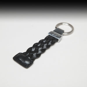 Black Leather Key chain by Braun Buffel