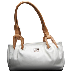 I Medici 340 Italian Leather Top Handle Handbag