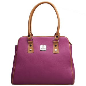 I Medici 898 Italian Leather Top Handle Bag