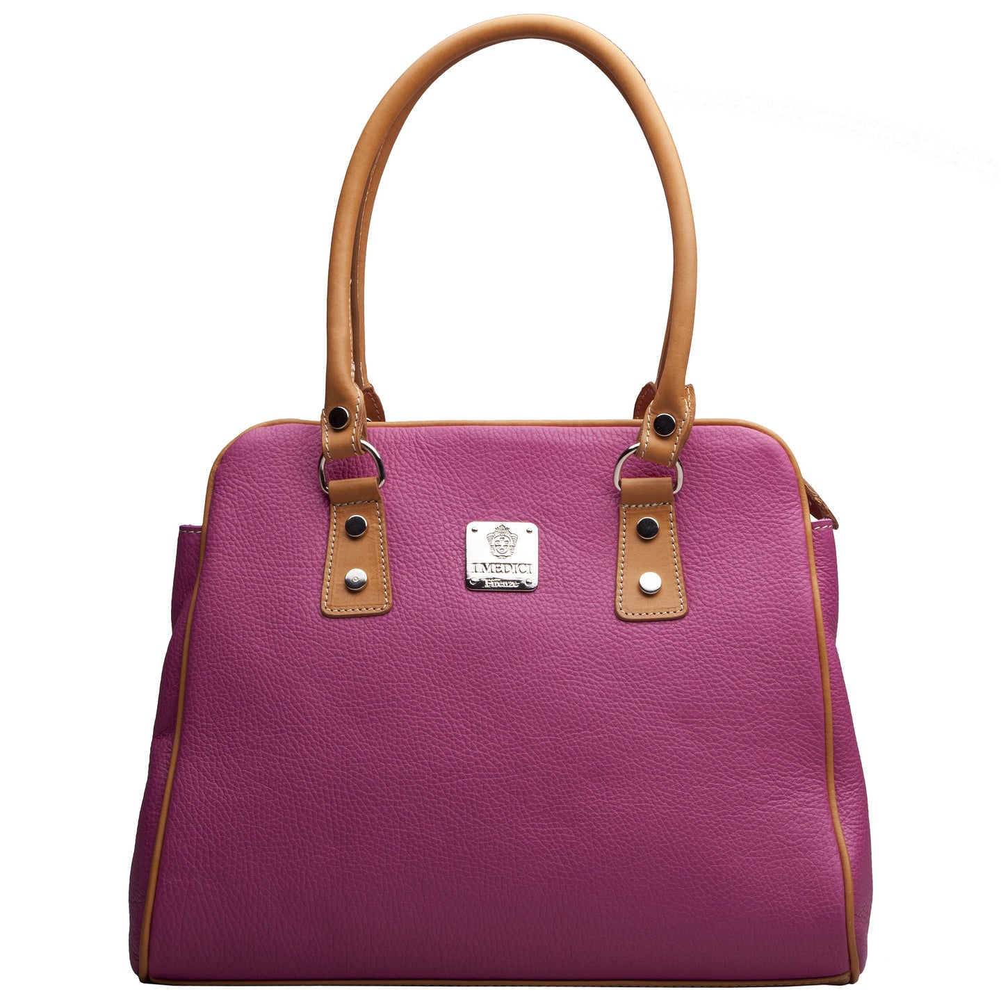 I Medici Pink Leather Handbags I Medici 989