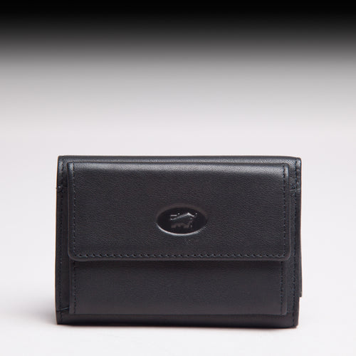 Braun Büffel Black German Leather wallet