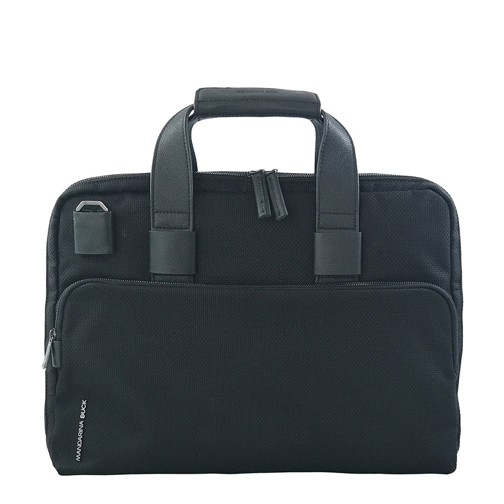 Italian Canvas Briefcase unisex