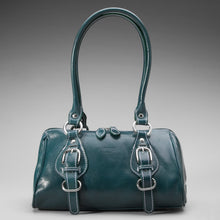 Italian Green Leather Bag I Medici