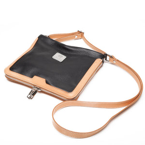 I Medici 231 Crossbody Italian Leather Messenger Bag