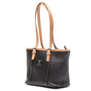 I Medici Italian Leather Structured Tote Bag A18