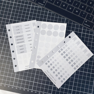 Assorted Functional Neutral Sampler | Sticker Insert