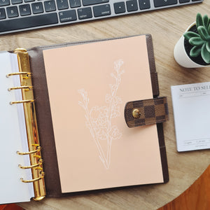 A5 MAY PAPER CO. x RJT Floral Line Art Notebook (limited edn)