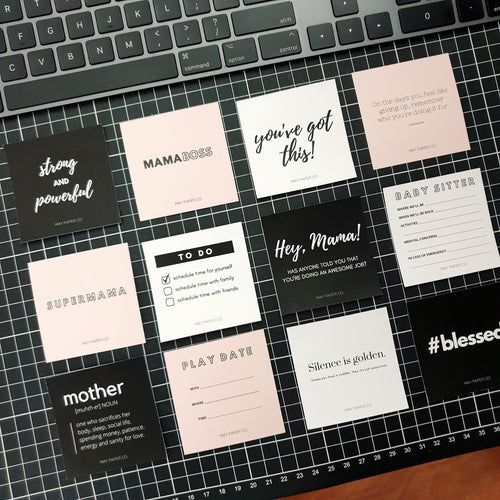 PRINTABLE MPC x RANAPLANS Mama Planner Card Set