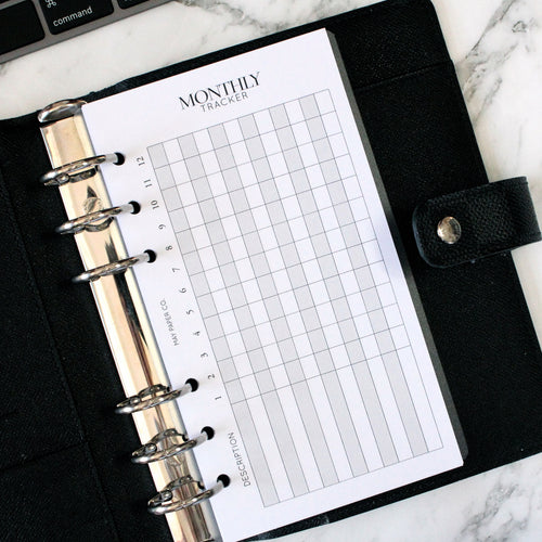 PRINTABLE Monthly Tracker