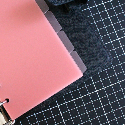 Side Tab Dividers | PREMIUM PINK FROST