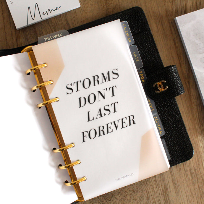 FREEBIE* PRINTABLE Storms Don't Last Forever