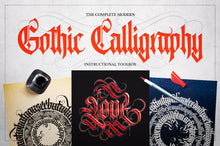 Load image into Gallery viewer, The Complete Modern Gothic Calligraphy Toolbox