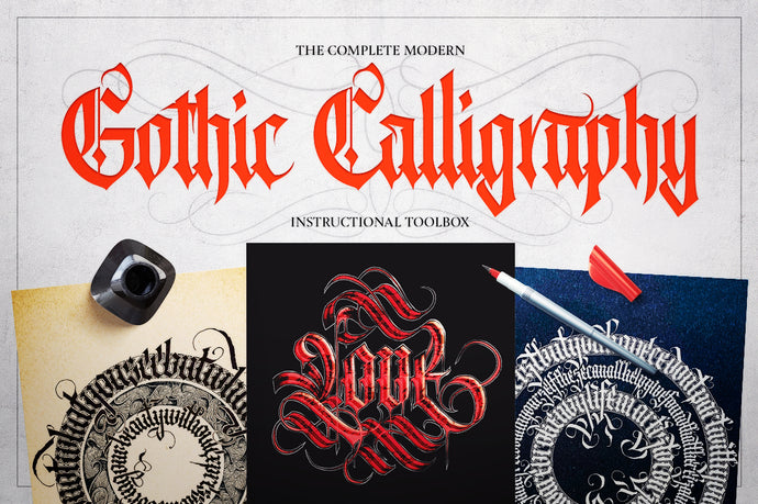 The Complete Modern Gothic Calligraphy Toolbox