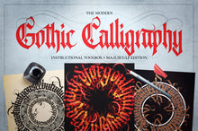 Load image into Gallery viewer, The Modern Gothic Calligraphy Instructional Toolbox (Majuscule Edition)
