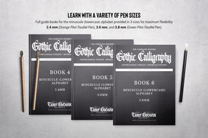 The Modern Gothic Calligraphy Instructional Toolbox (Minuscule Edition)
