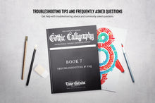 Load image into Gallery viewer, The Modern Gothic Calligraphy Instructional Toolbox (Minuscule Edition)